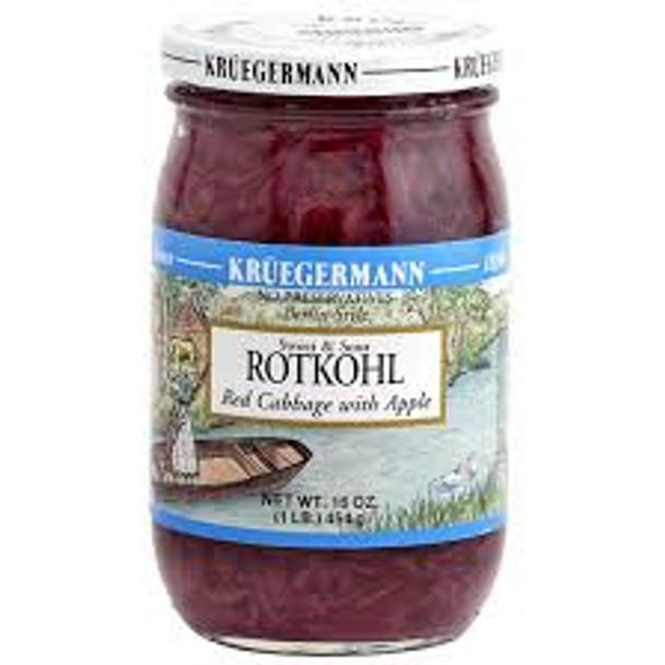 Kruegermann Berlin Style Apple Red Cabbage 16oz