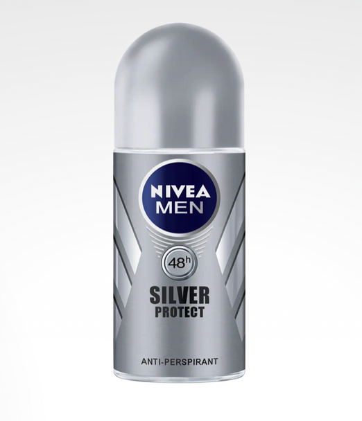 Nivea Men Silver Protect Anti Perspirant Roll On 50ml
