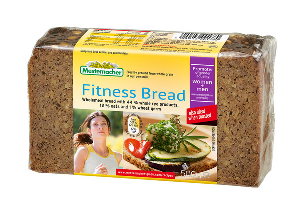 Mestemacher Natural Fitness Bread 17.6oz