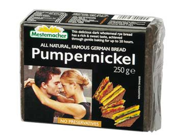 Mestemacher Natural Pumpernickel With Whole Rye Kernels 8.8oz