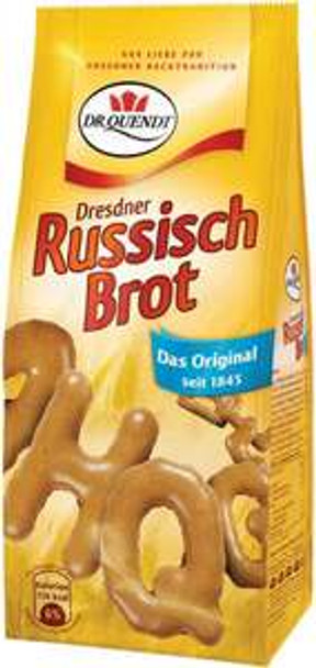 Dr. Quendt Dresdner Alphabet Cookies with Coconut - Russisch Brot Kokos 3.1oz