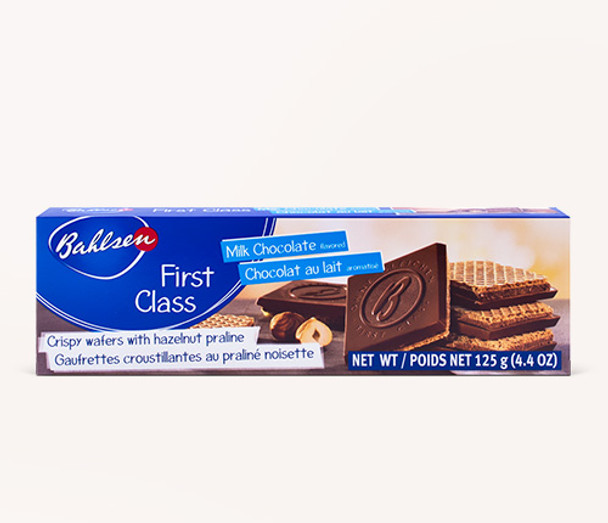 Bahlsen First Class Hazelnut Covered Wafers with Milk Chocolate 4.4oz