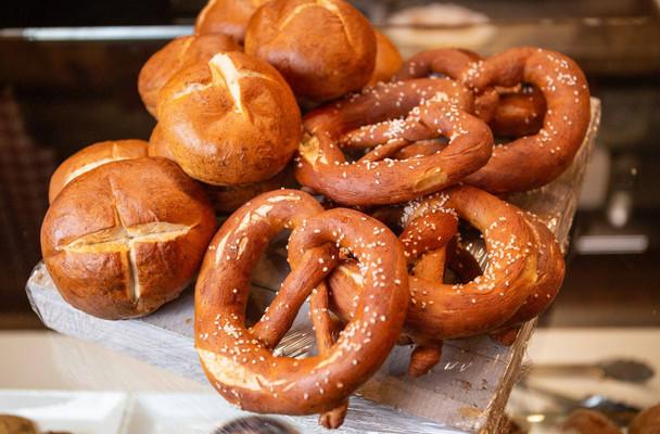 Pretzel  Rolls/Laugen Broetchen