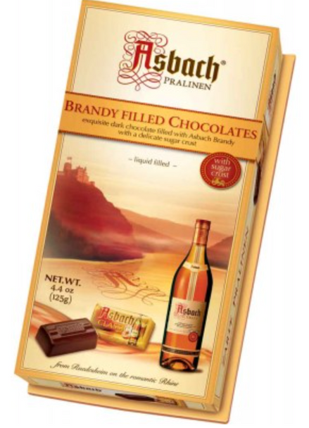Asbach Brandy Filled Chocolates 4.4oz (125g)