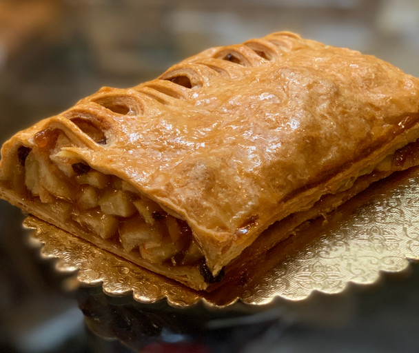 "Apple Strudel 6"" Piece"