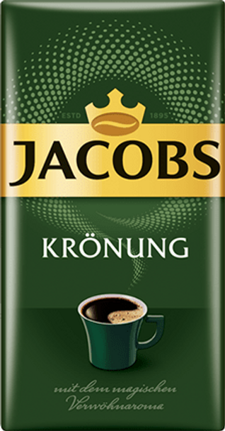 Jacobs Kronung Ground Coffee 17.6oz, 500g