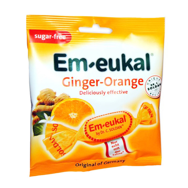 Em-eukal Ginger-Orange Sugar-free