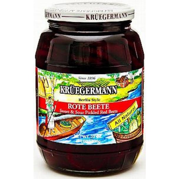 Kruegermann Red Beets 32oz