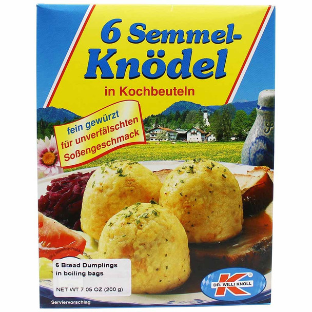 Dr. Willi Knoll 6 Bread dumplings 7oz