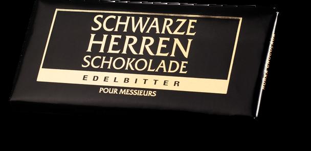 Schwarze Herren Schokolade