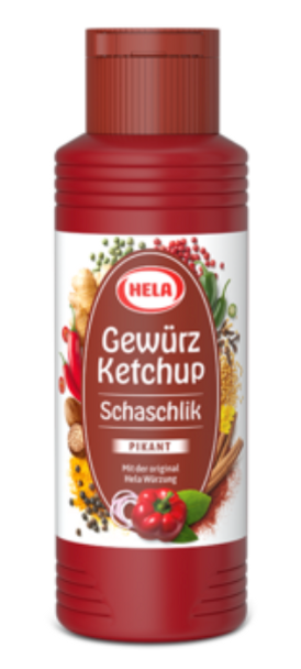 Hela Schaschlik Gewurz Ketchup 300ml