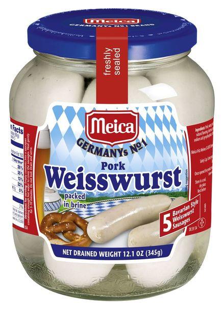 Meica Pork Weisswurst 12.1oz