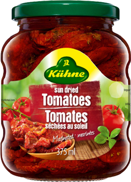 Kuhne Sun Dried Tomatoes 375ml