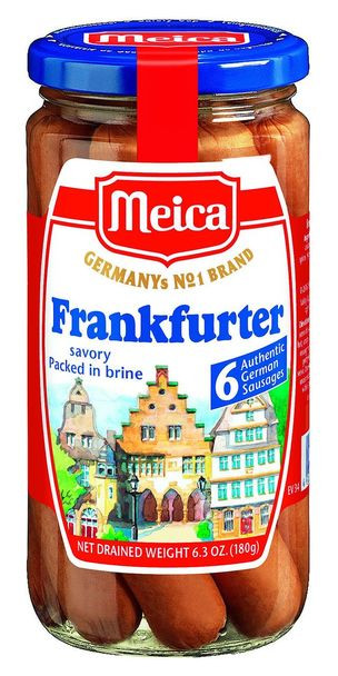 Meica Pork Frankfurter 6.3oz