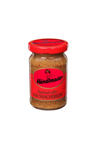 Händlmaier Sweet Bavarian Mustard 3.38 OZ. (100ml)  Handlmaier Hausmacheresenf 100ml