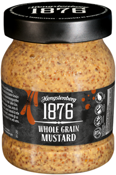 1876 Hengstenberg Whole Grain Mustard 9.5oz