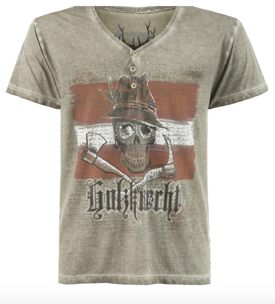 Mens T-Shirt Stockerpoint Traditional KNECHT AUSTRIA