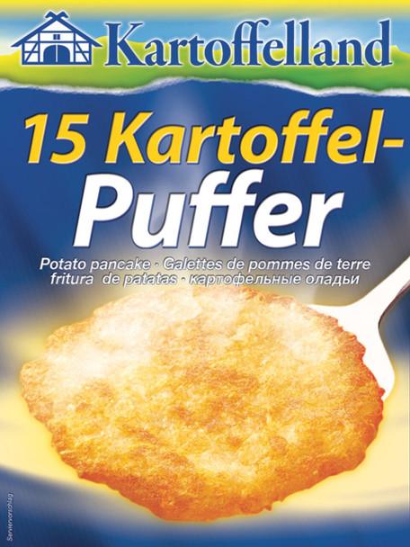 Kartoffel 15 Kartoffel-Puffer 5.25oz