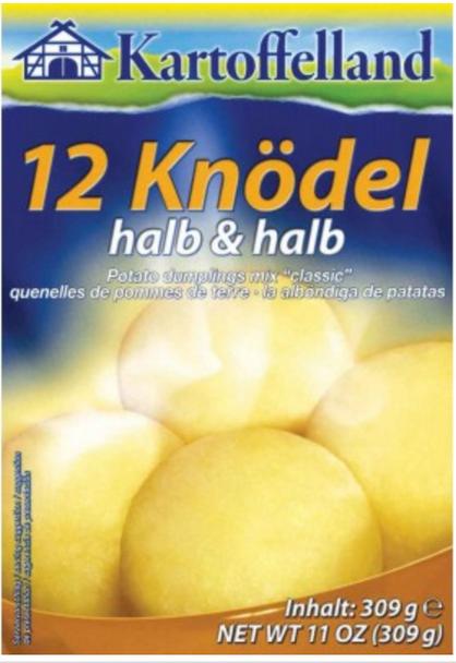 Kartoffelland 12 knodel halb & halb 11oz