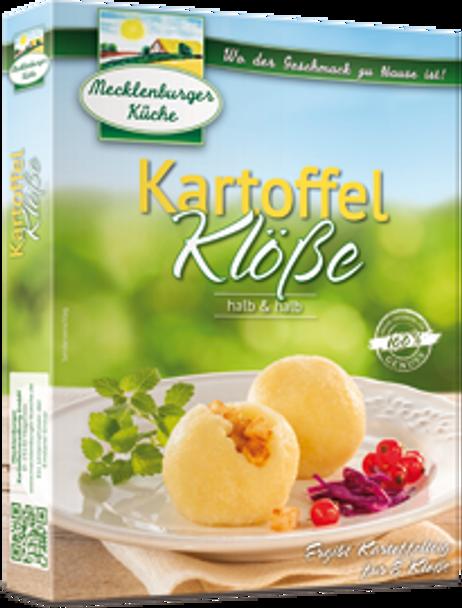 Mecklenburger 6 Potato Dumplings Halb & Halb (200g)