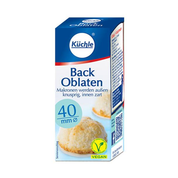 Küchle Back Oblaten 40mm