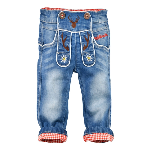 Boy Baby & Toddler Trachten Blue Jeans