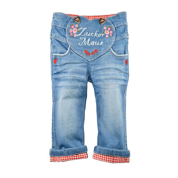 Baby Girls Trachten Blue Jeans