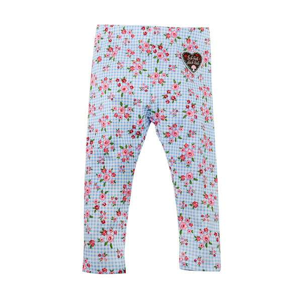 Baby Leggings with Floral Print