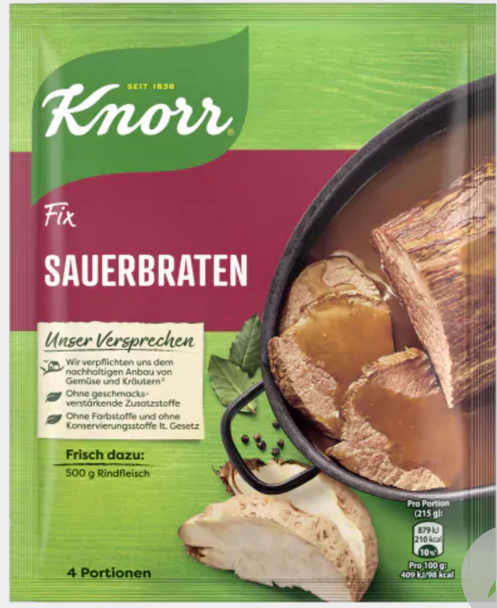 Knorr Fix Sauerbraten 78g