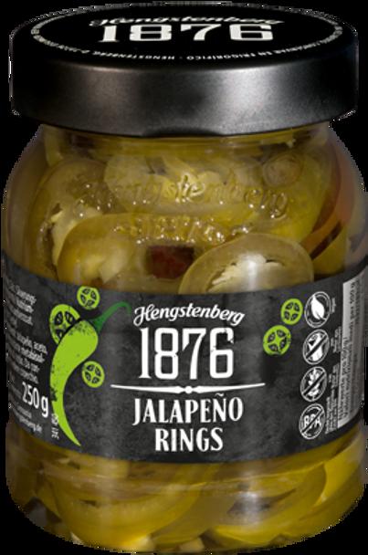 Hengstenberg JALAPEñO Rings 250g