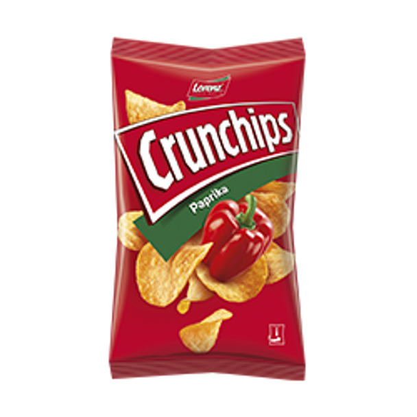 Crunchips Paprika Potato Chips 175g
