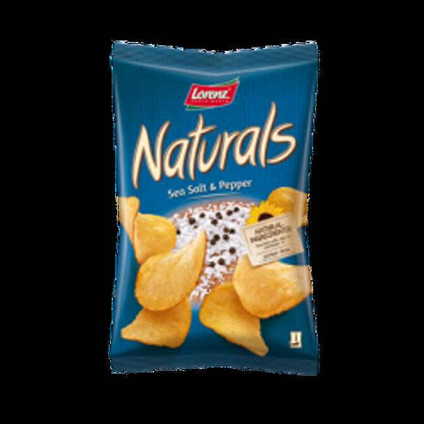 Naturals Sea & Pepper Chips 3.5oz
