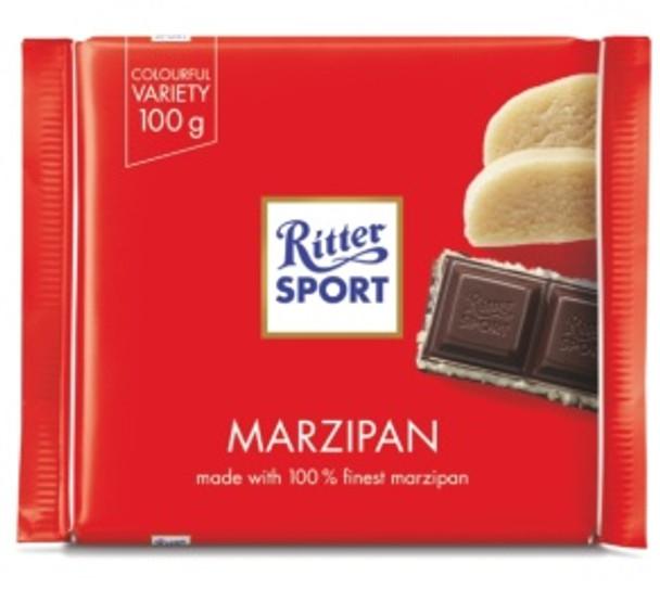 Ritter Sport Marzipan with Dark Chocolate 3.5oz (100g)