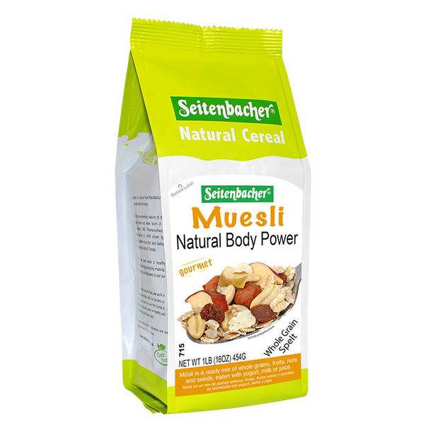 Muesli Cereal #1 Natural Body Power