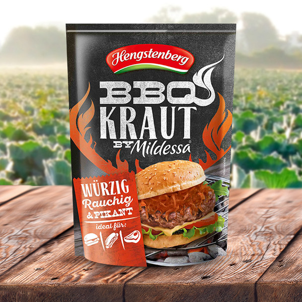 Hengstenberg Sauerkraut BBQ Mildessa 14oz