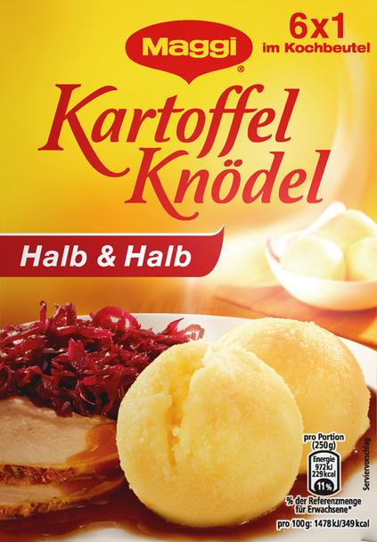 Kartoffel Knodel Halb & Halb (6 Potato Dumplings) 200g