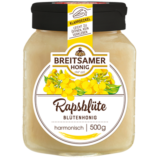 Breitsamer Rapsflower Honey Creamy 500g