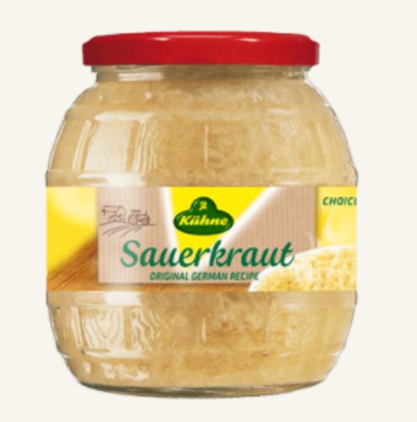 Kuhne Traditional Barrel Sauerkraut 28.5oz (810g)