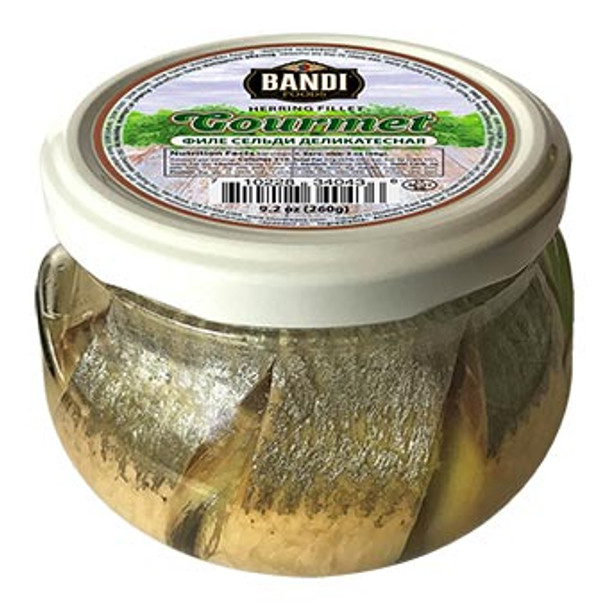 Bandi Gourmet Herring Fillet in Oil 260g (refrigerated)