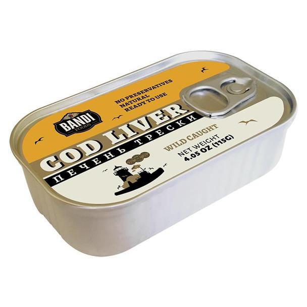Bandi Cod Liver Wild Caught 4.05oz