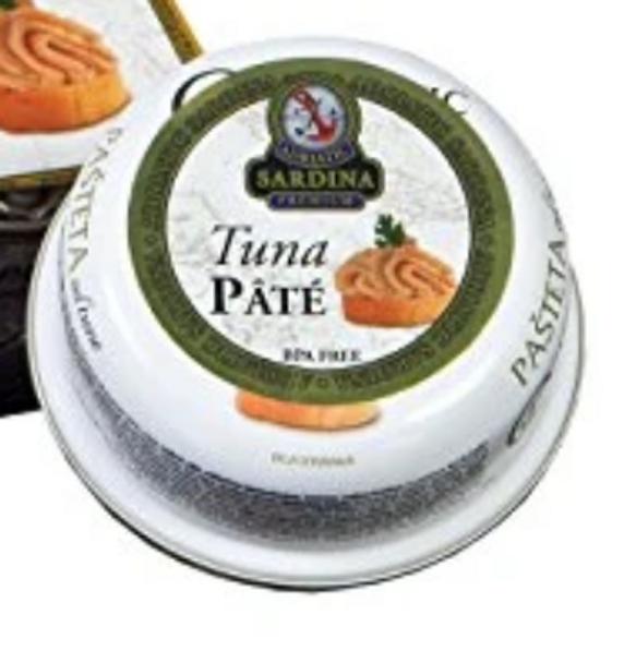 Adriatic Sardina Canned Tuna Pate 95g