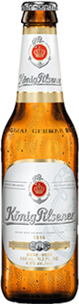 König Pilsener Premium Beer 11.2 fl.oz.