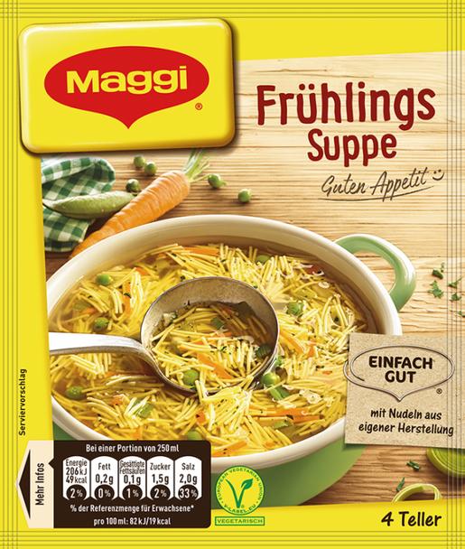 Maggi Fruhlings Suppe 1L