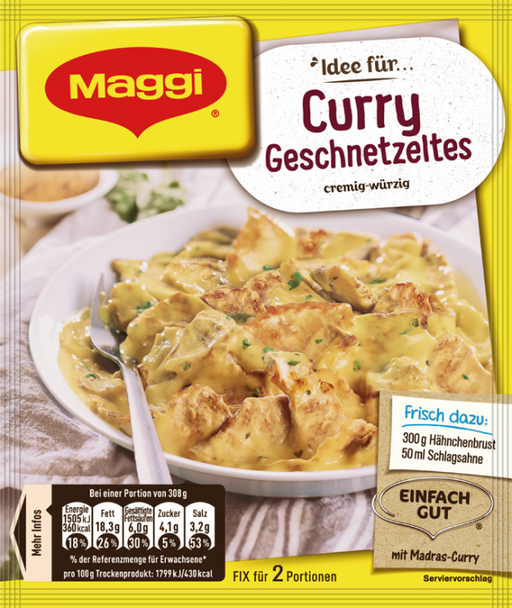 Maggi Curry Geschnetzeltes 41g
