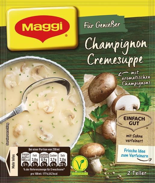 Maggi Cream of Mushroom Soup 51g