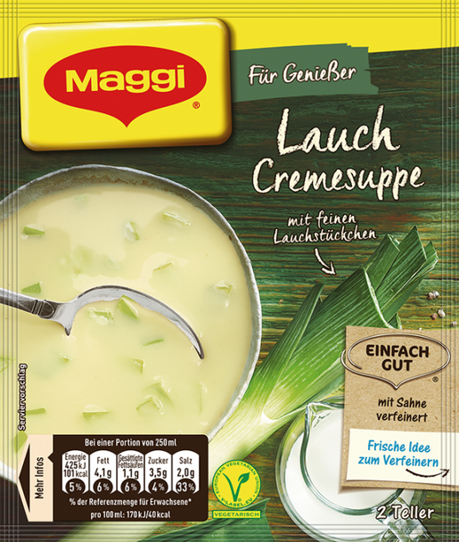 Maggi Cream of Leek Soup 51g