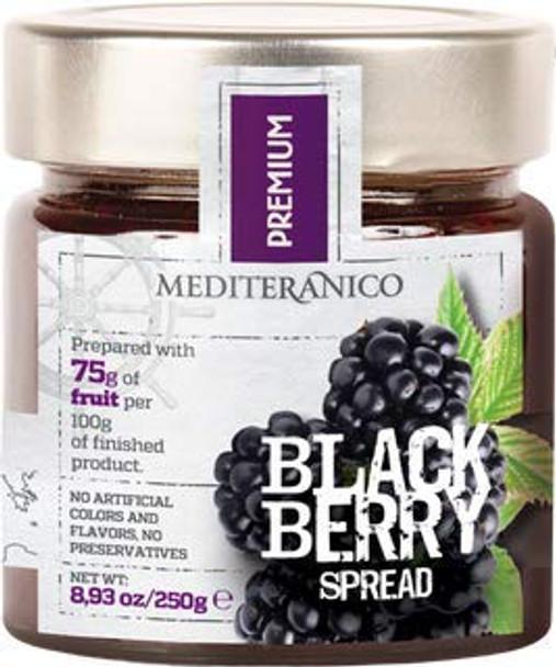 Mediteranico Blackberry Spread 8.93oz. (250g)