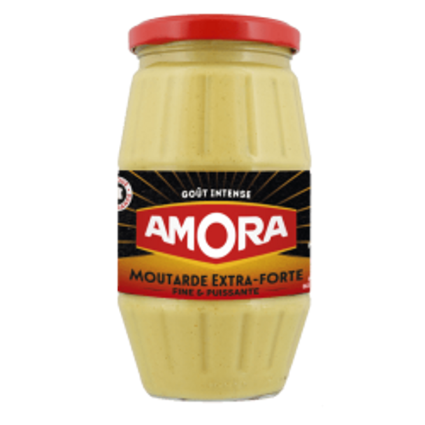 Amora Moutarde Extra-Forte 440g