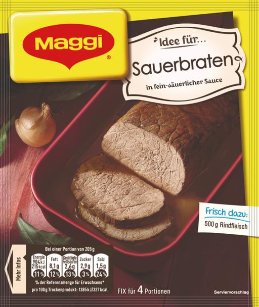 Maggi Sauerbraten Fix für 50g