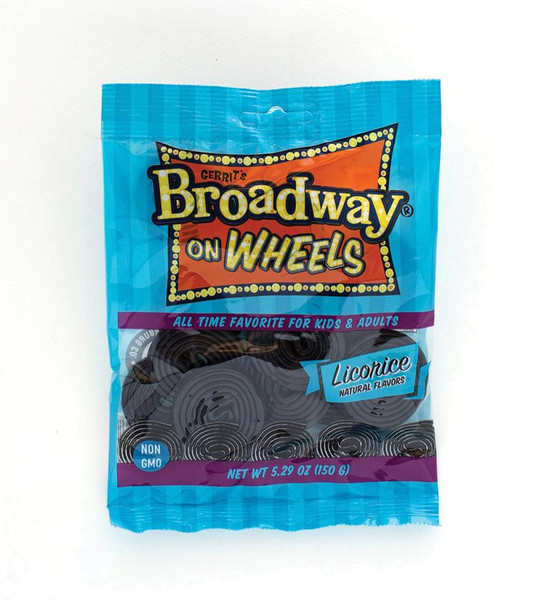 Gerrit's Broadway on Wheels Licorice 5.29 oz